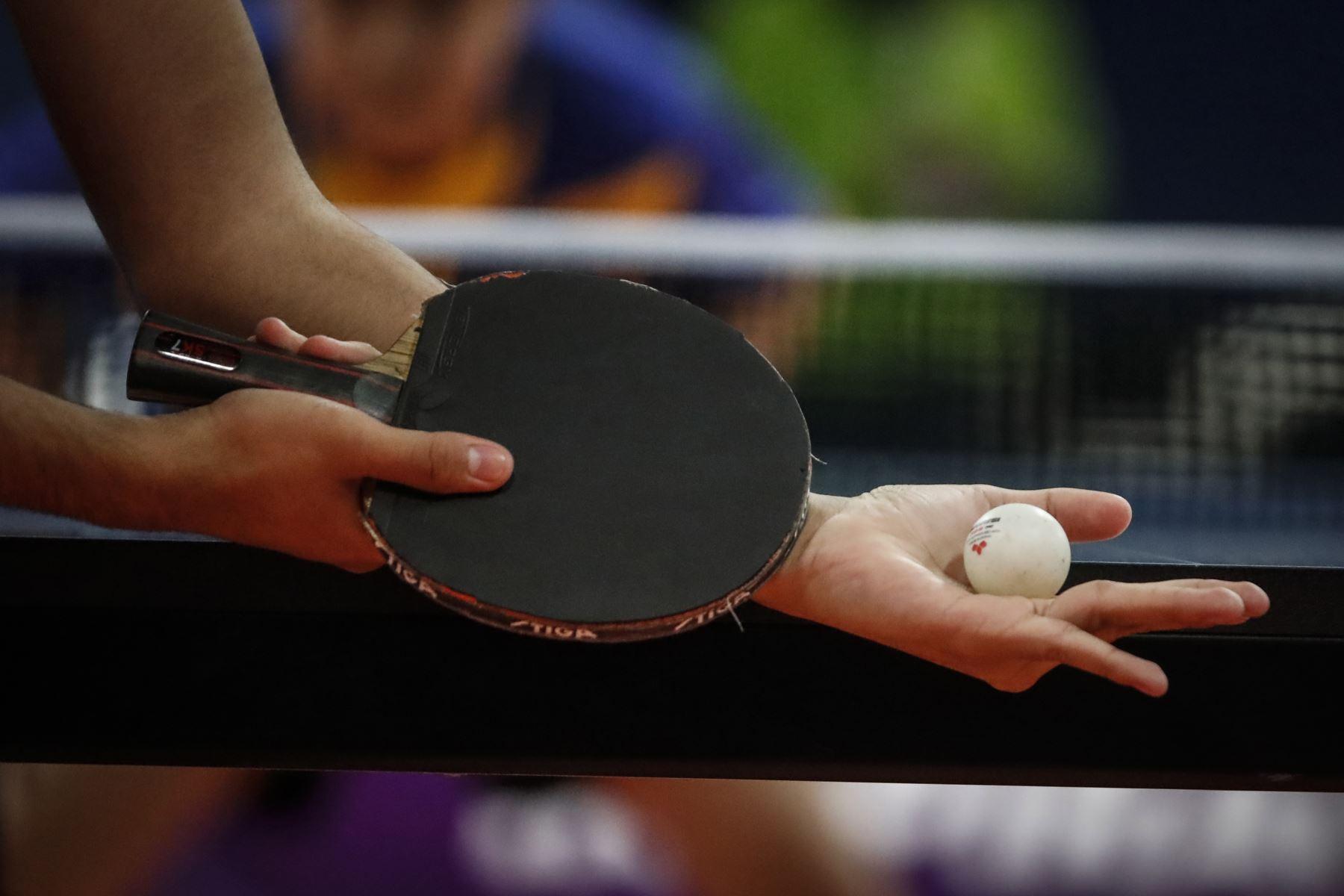 Se disputan encuentros de de Tenis de Mesa por  los Juegos Deportivos Escolares Nacionales en el Estadio Nacional. Foto: ANDINA/Renato Pajuelo