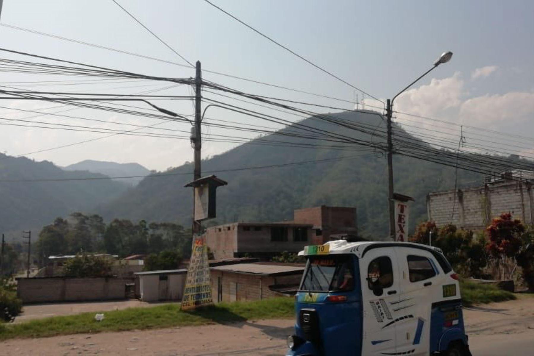 Sofocan incendio forestal en Chanchamayo, en Junín, y autoridades descartan daños personales. ANDINA/Difusión