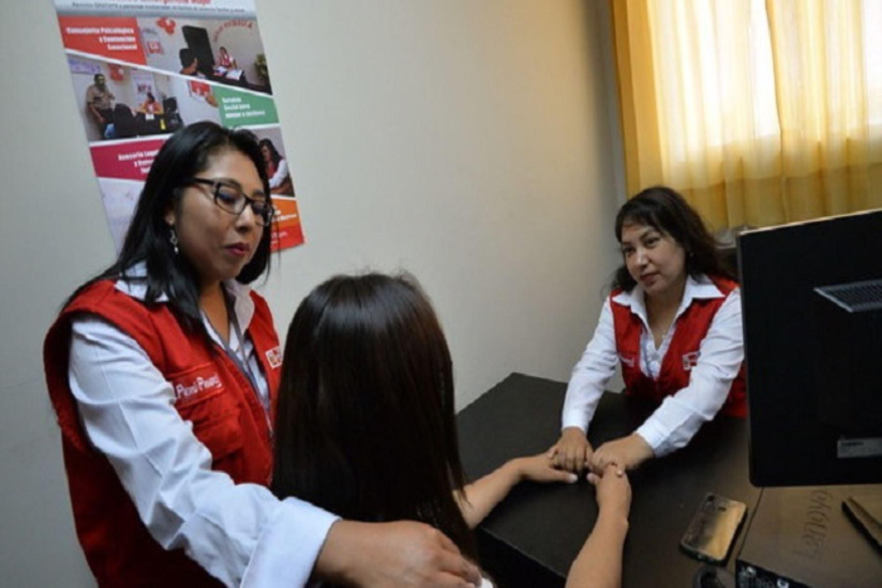 Ministerio de la Mujer inaugura servicio de atención a víctimas de la violencia de género en Puno. ANDINA/Difusión
