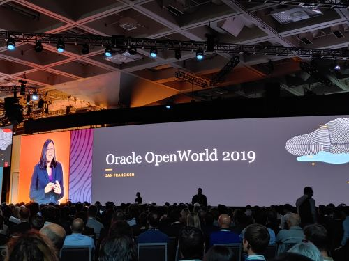 Oracle OpenWorld 2019. Foto: Reynaldo Mallque