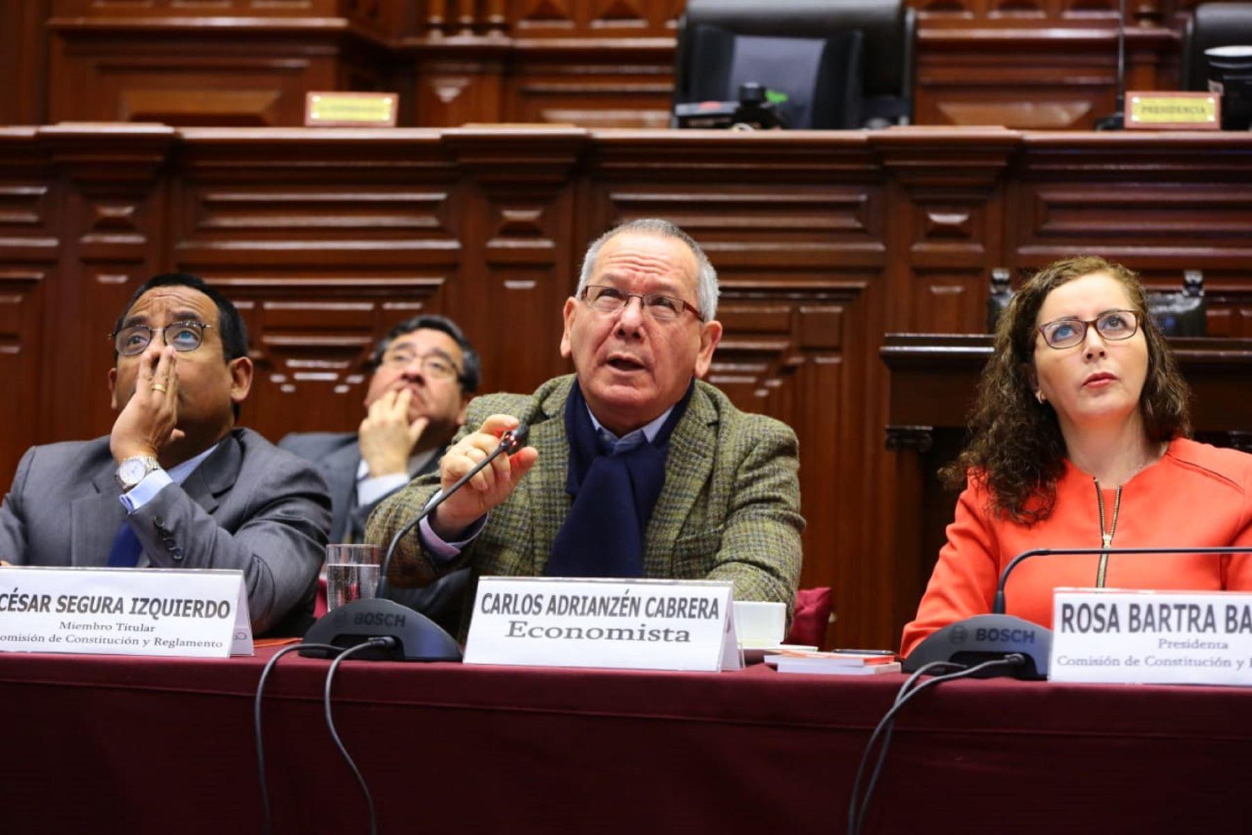 Foto: Comisión de Constitución.