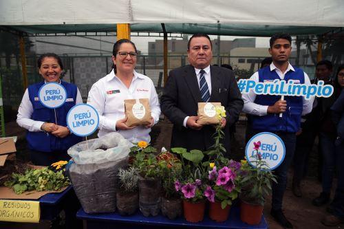 Ministra del Ambiente y alcalde de Breña presentan modelo de gestión municipal en residuos sólidos