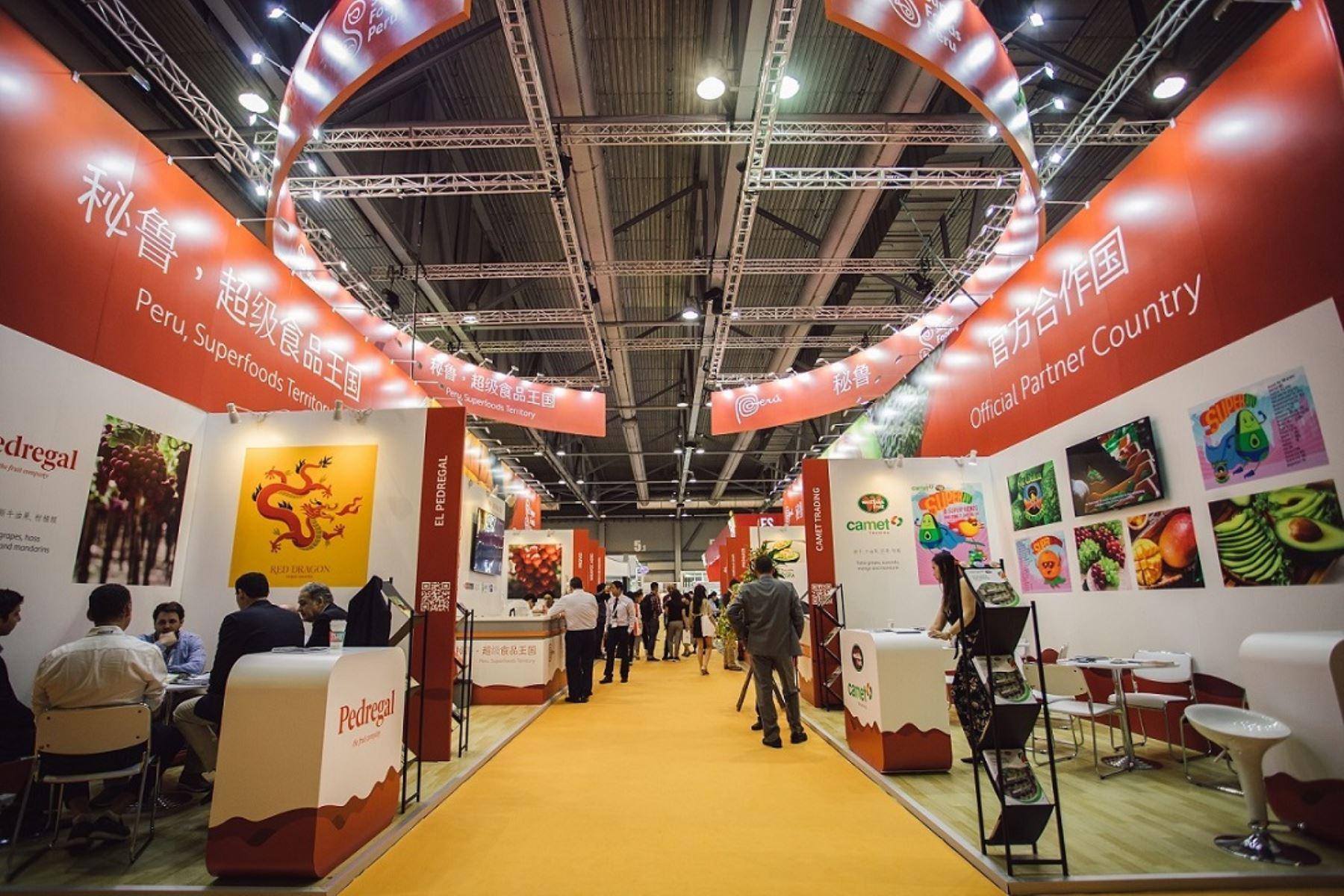 En el Asia Fruit Logistica 2019, la delegación peruana generó 637 nuevos contactos comerciales.