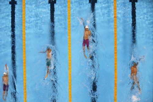 Juegos Escolares 2019: Campeones de natación compiten en el Centro Acuático de la Videna