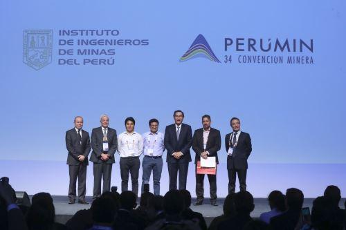 Presidente Vizcarra participa en la Convención Minera Perumin 34
