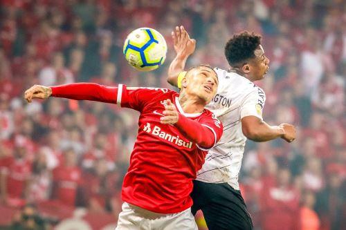 El Internacional de Paolo Guerrero pierde 2 a 1 la final de la Copa Brasil contra el Athletico Paranaense