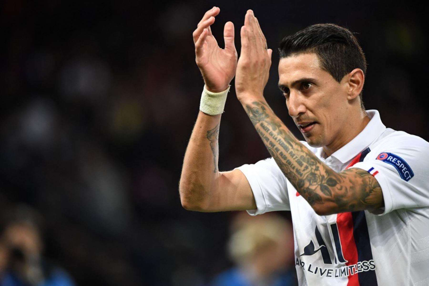 Di María fue el mejor jugador sudamericano en la primera fecha de la Liga de Campeones
