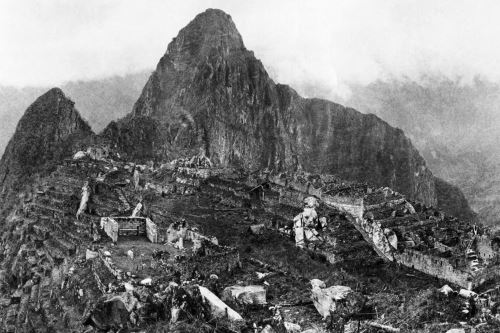 Históricas imágenes de Hiram Bingham sobre Machu Picchu