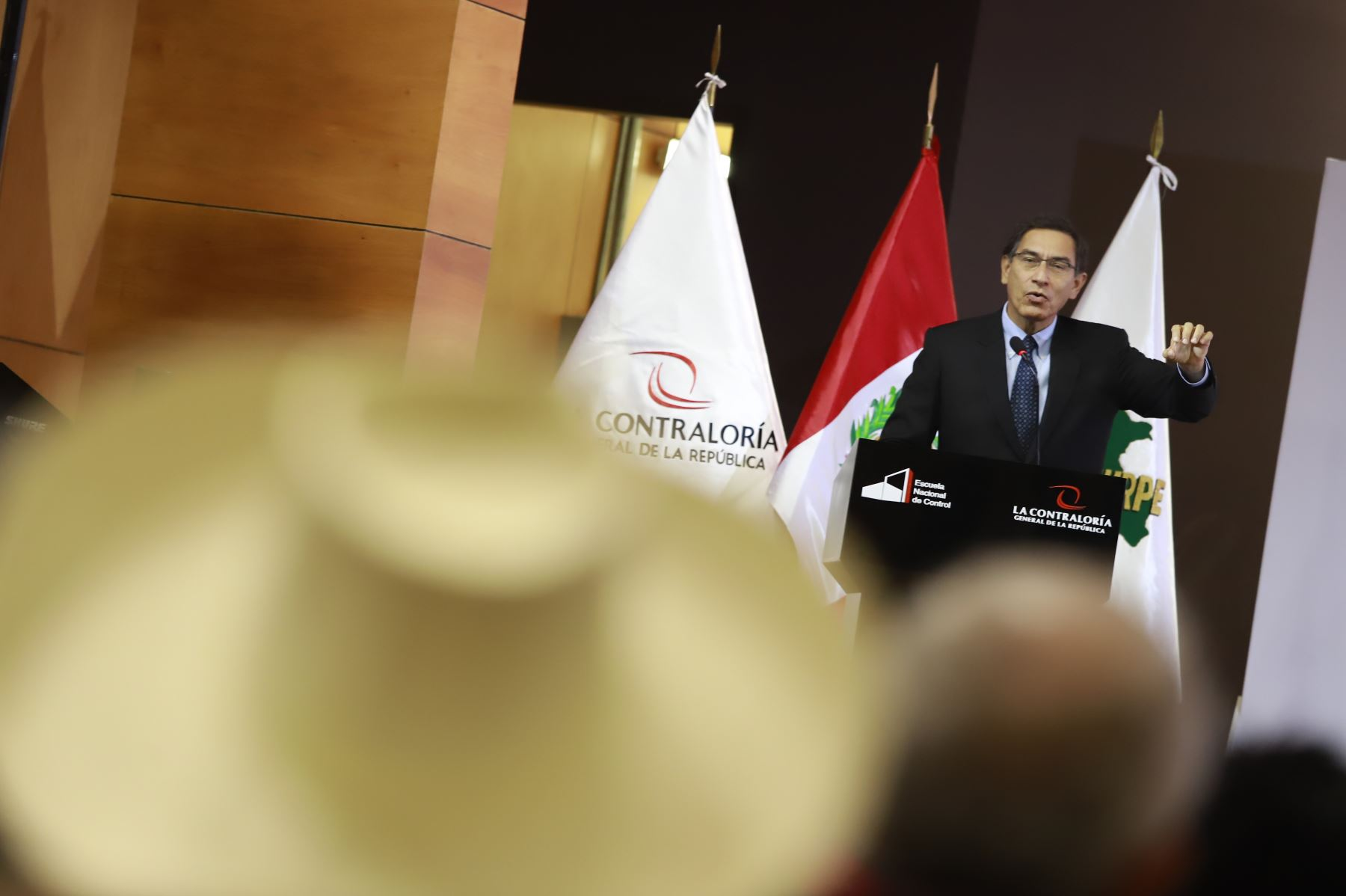 Presidente Vizcarra participa en la XII Conferencia Anual de Municipalidades organizada por la REMURPE, con el objetivo  de  fortalecer los espacios de articulación con la sociedad civil a fin de brindar un mejor servicio a todos los peruanos. Foto: ANDINA/Prensa Presidencia