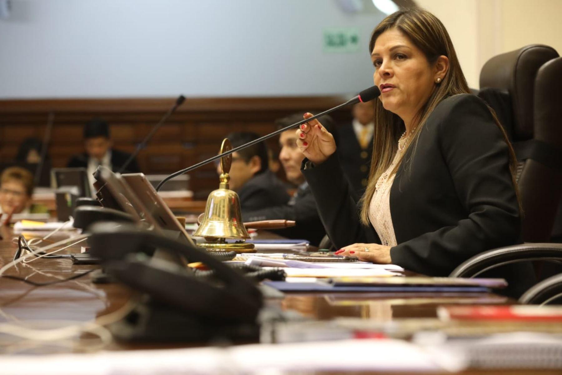 Karina Beteta (FP), primera vicepresidenta del Congreso