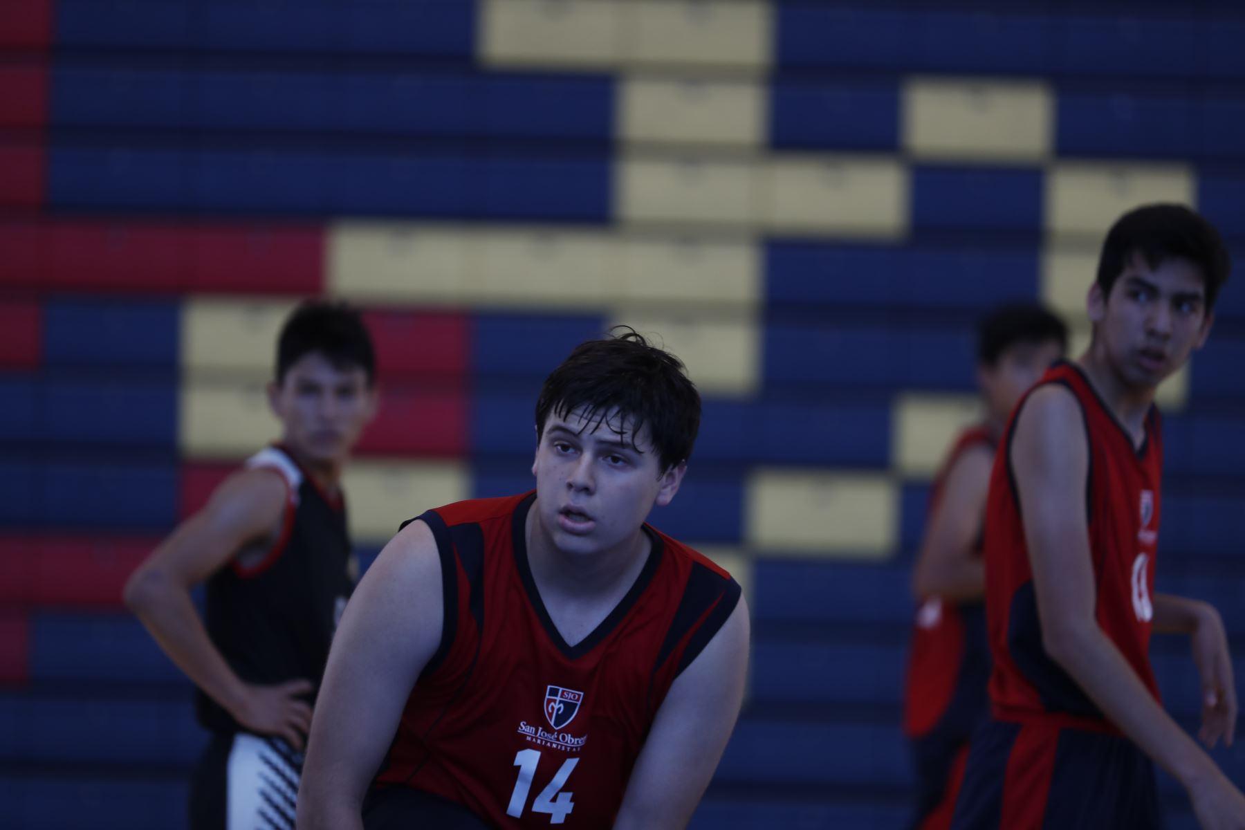 Colegio San José Obrero Maristas de Trujillo por los Juegos Deportivos Escolares Nacionales 2019. Foto: ANDINA/Renato Pajuelo