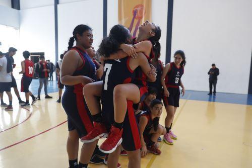 Juegos Escolares 2019: Colegio Maristas de Trujillo se lleva la medalla de oro en básquet femenino