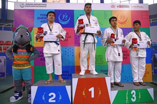 Juegos Escolares 2019: deportistas destacan en judo masculino