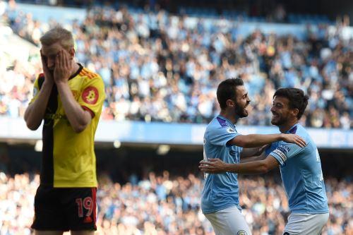Manchester golea 8-0 al Watford por la Premier League
