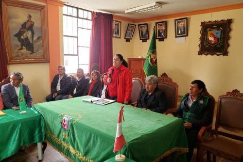 El Subgrupo de Trabajo Nº 1 de la Mesa de Diálogo para abordar integralmente la problemática del agua se instaló en la provincia de Candarave, encabezado por la ministra de Agricultura y Riego, Fabiola Muñoz.
