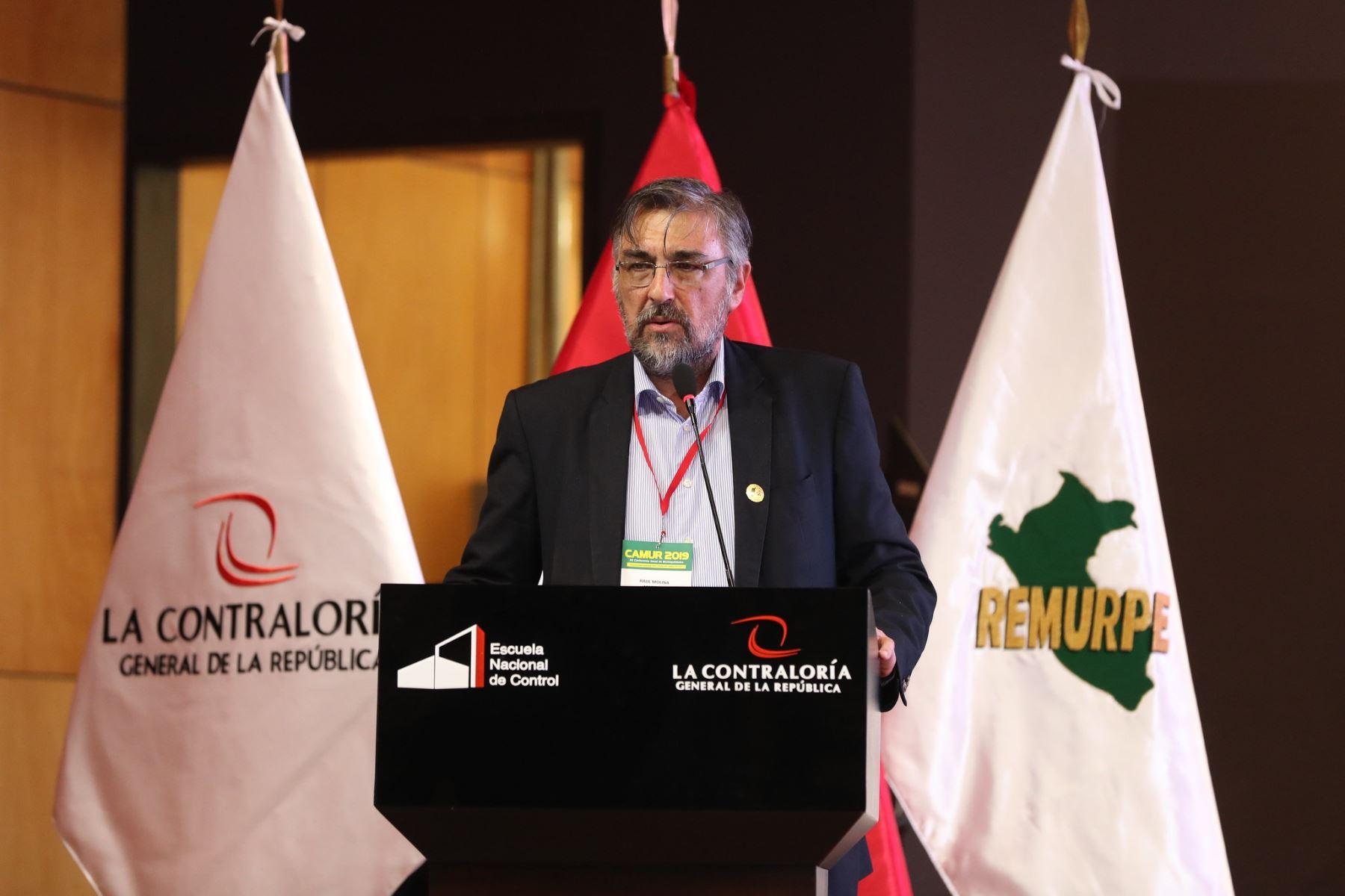 Viceministro de Gobernanza Territorial de la Presidencia del Consejo de Ministros (PCM), Raúl Molina Martínez,