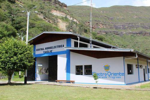 Central hidroeléctrica de Cáclic, en la región Amazonas, operada por la empresa Electro Oriente.
