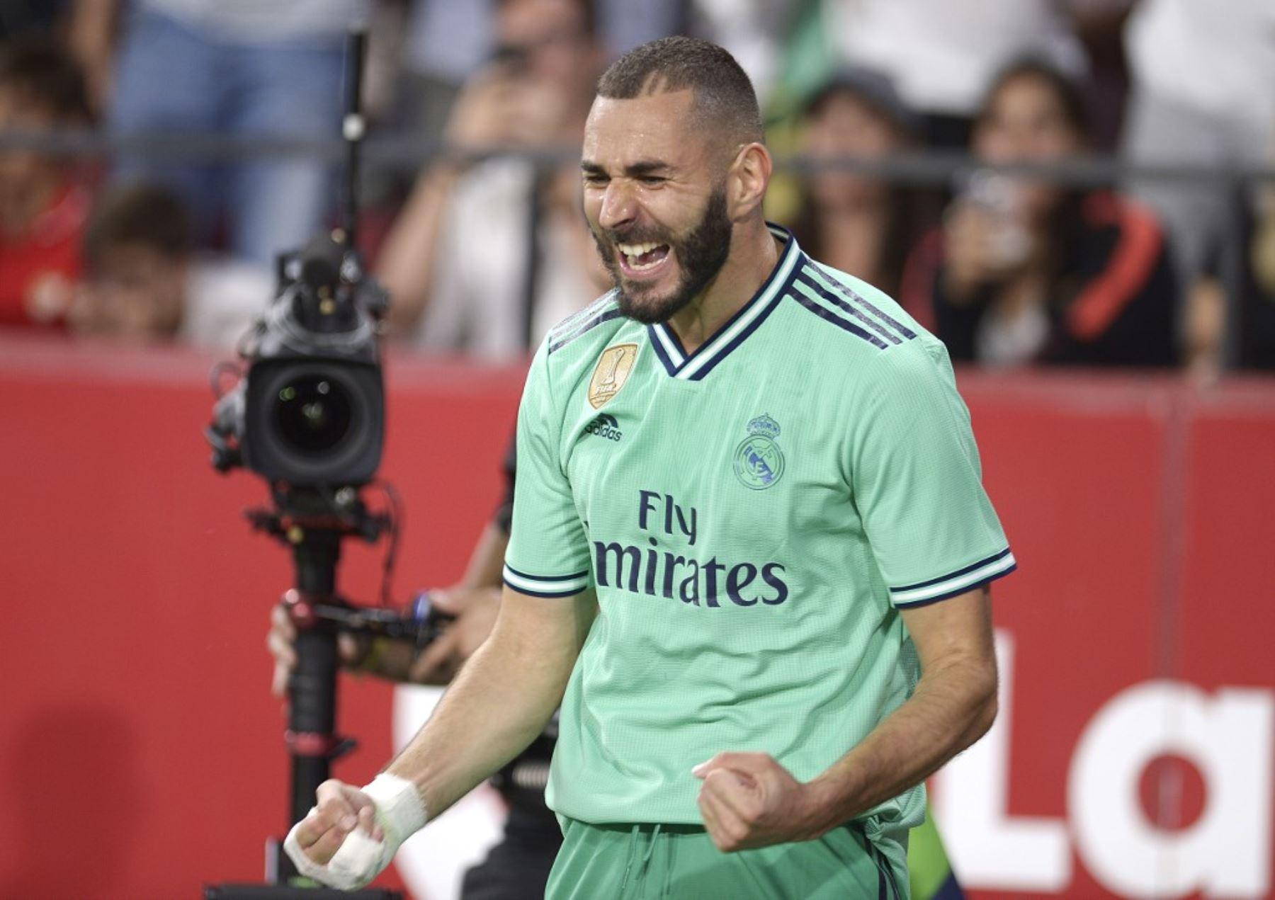 Benzema le dio el triunfo al Real Madrid