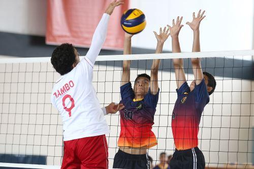 Juegos Deportivos Escolares 2019: Continua la jornada de Voleibol Masculino