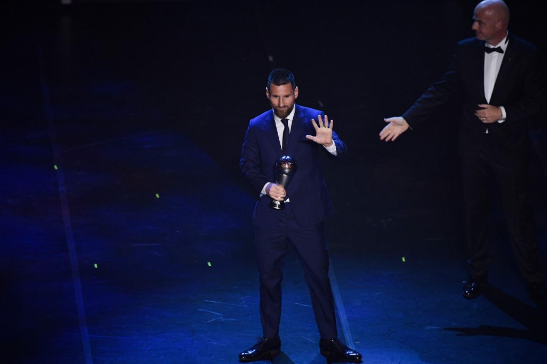 Lionel Messi gana el premio The Best de la FIFA al mejor jugador del 2019