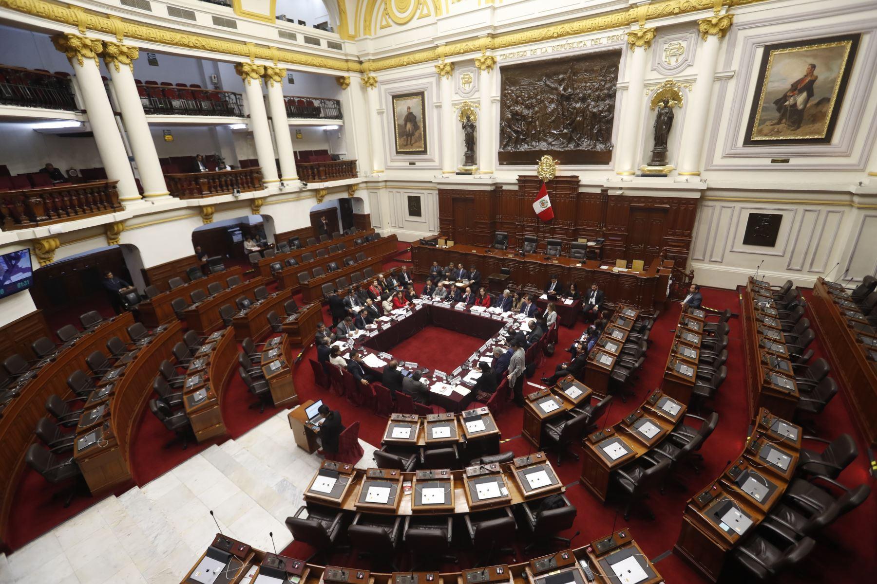 Comisión priorizará la reforma electoral y la inmunidad parlamentaria. ANDINA/Renato Pajuelo