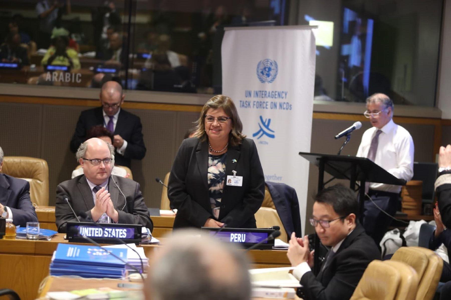 Naciones Unidas premia al Minsa por implementar Manual de Advertencias Publicitarias Foto: Minsa