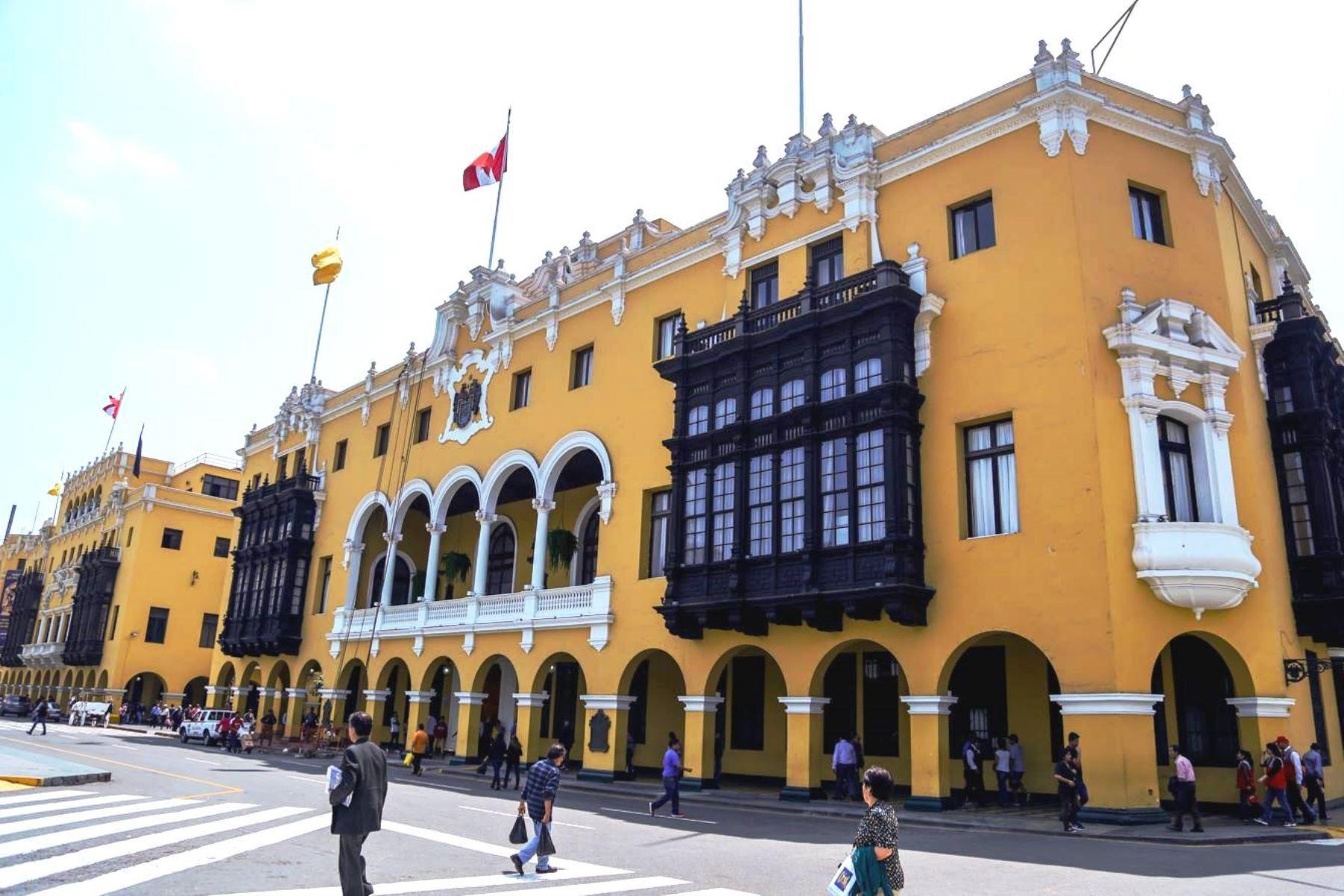 Sede de la Municipalidad Metropolitana de Lima. Foto: ANDINA/Difusión.