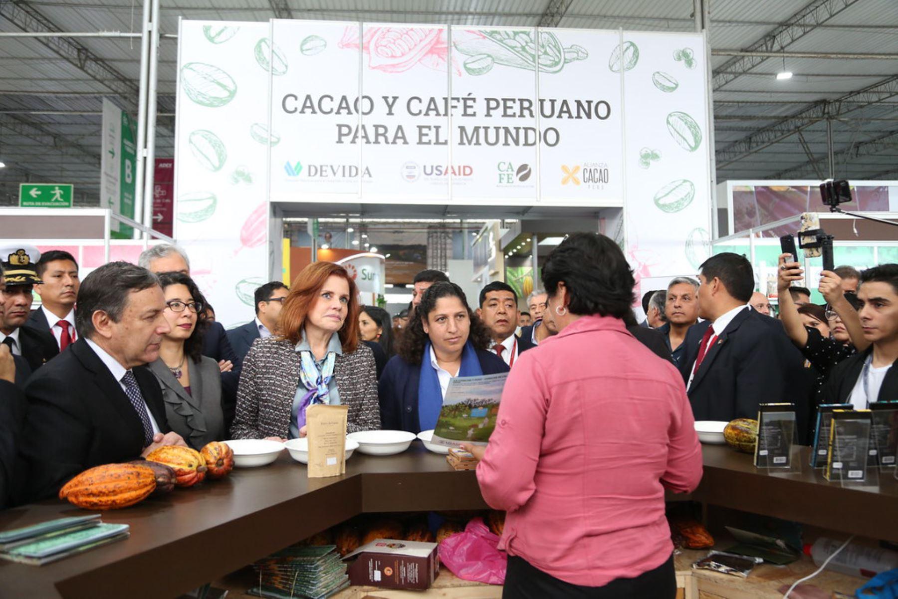 Ministra de Agricultura, Fabiola Muñoz, participó en la inauguración de Expoalimentaria 2019.