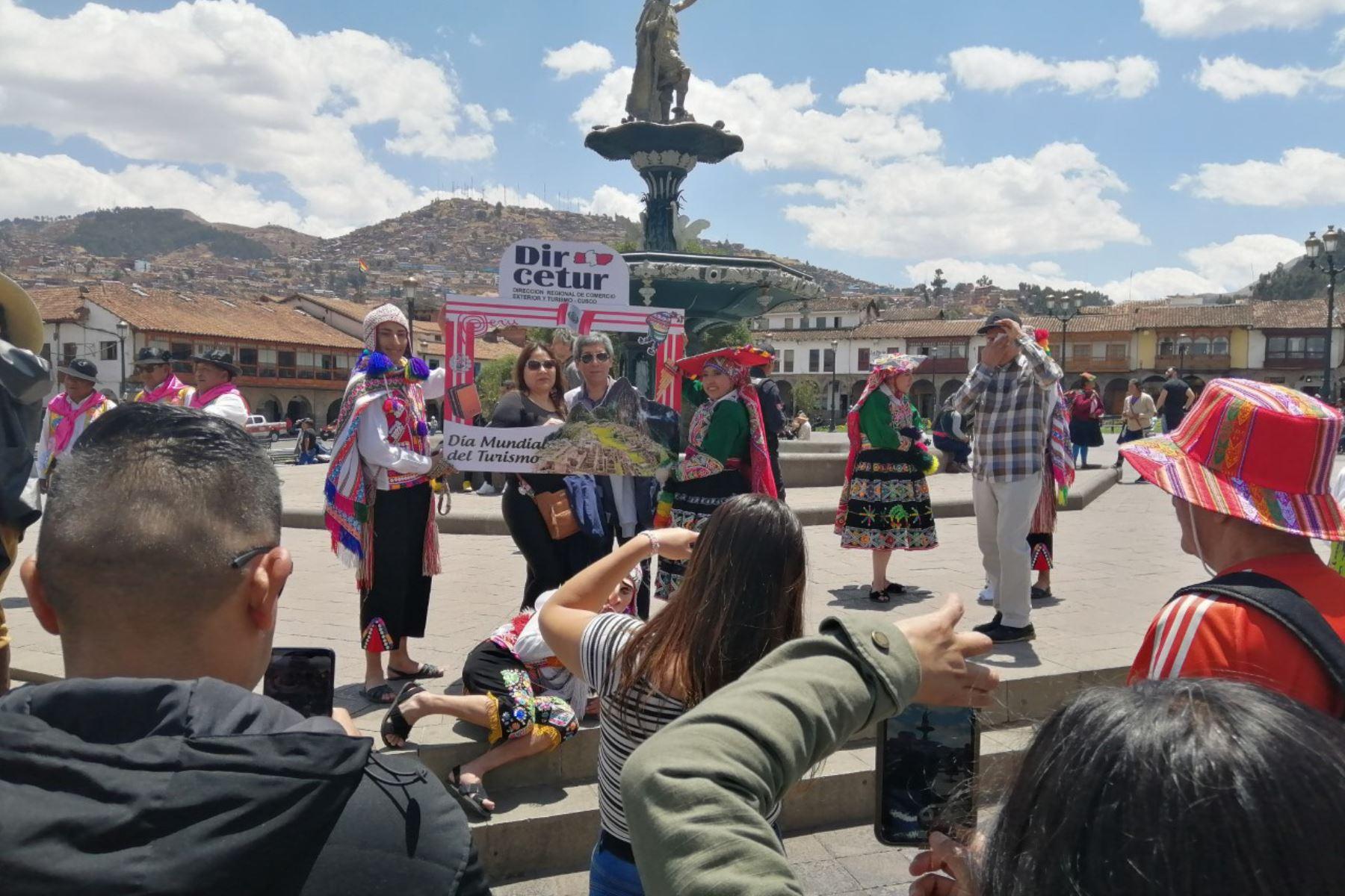 Con ritual inca, música y danzas típicas Cusco celebró el Día Mundial del Turismo