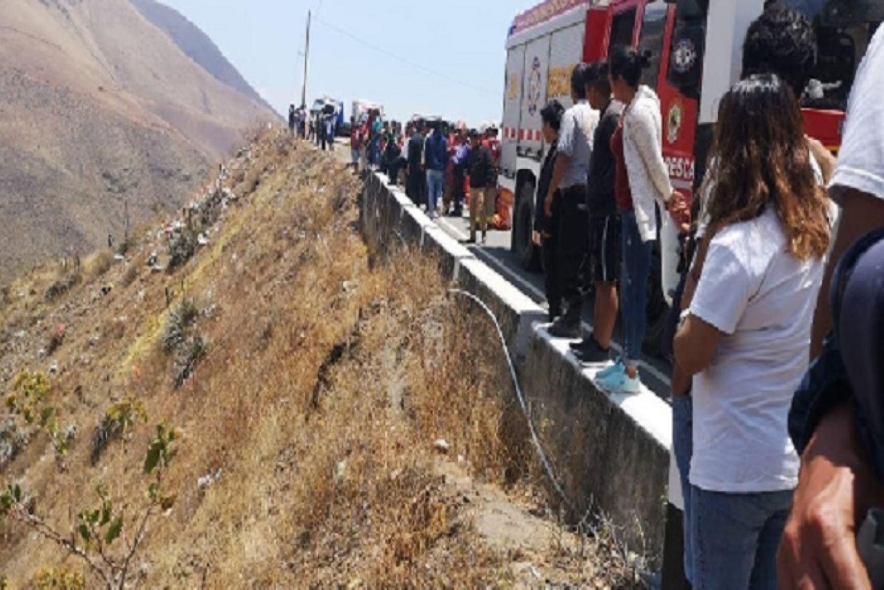 Un total de cinco muertos y un herido deja un accidente de tránsito registrado en menos de 24 horas en la provincia de Otuzco, región La Libertad, informó el Centro de Operaciones de Emergencia Regional (COER).ANDINA/Difusión