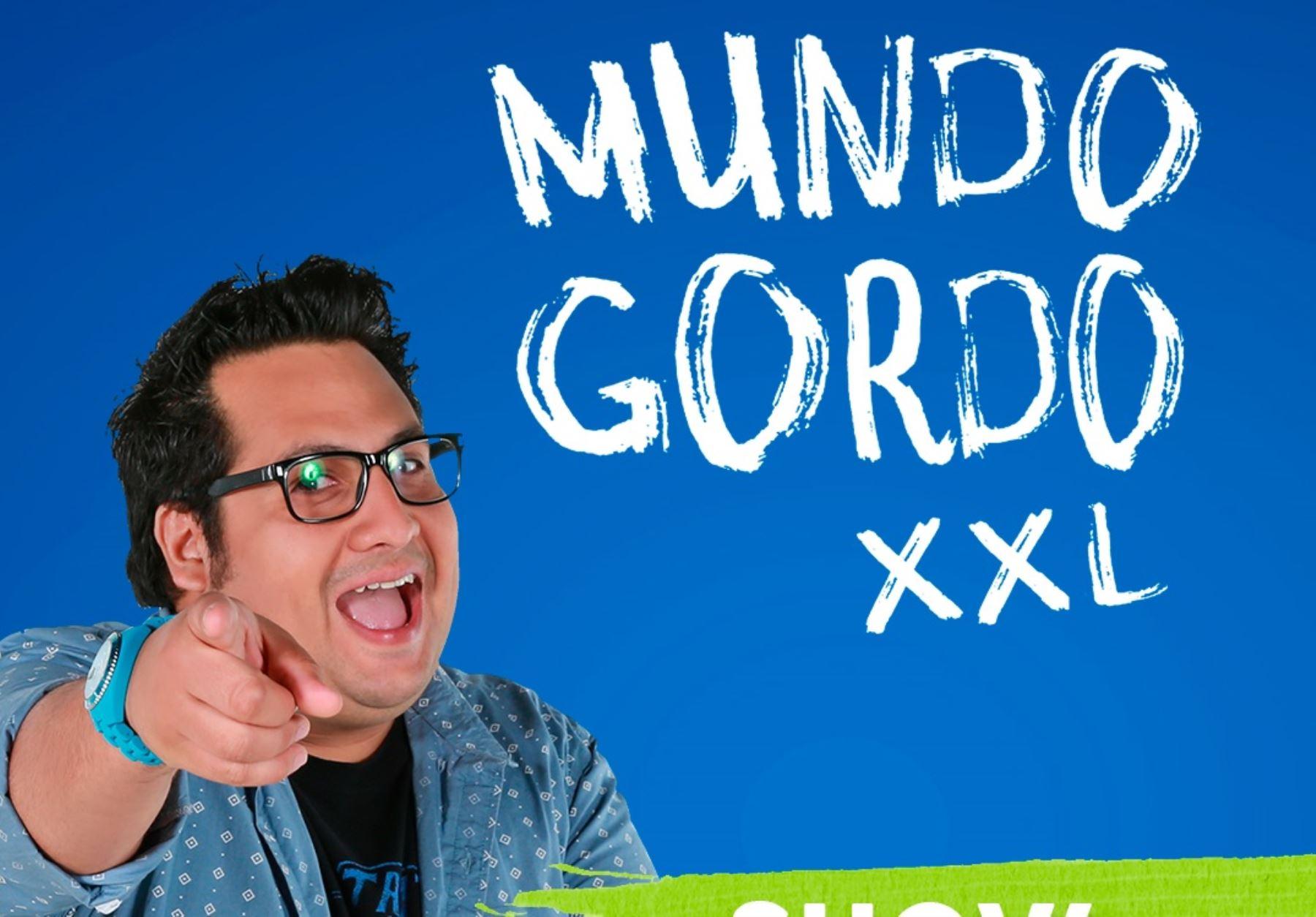 """""""Mundo gordo"""", una historia en formato stand up comedy que se presentará en las salas de cine."""