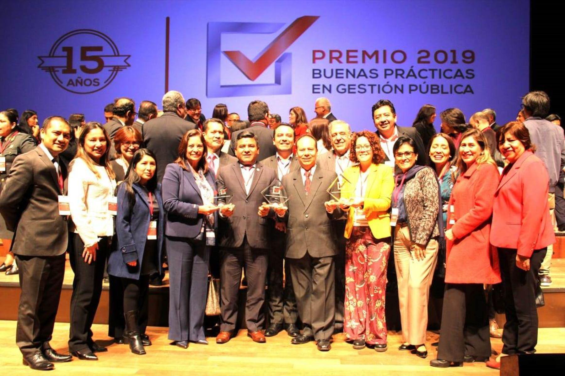 Midis obtiene 5 premios a las Buenas Prácticas en Gestión Pública 2019. Foto: ANDINA/Difusión.