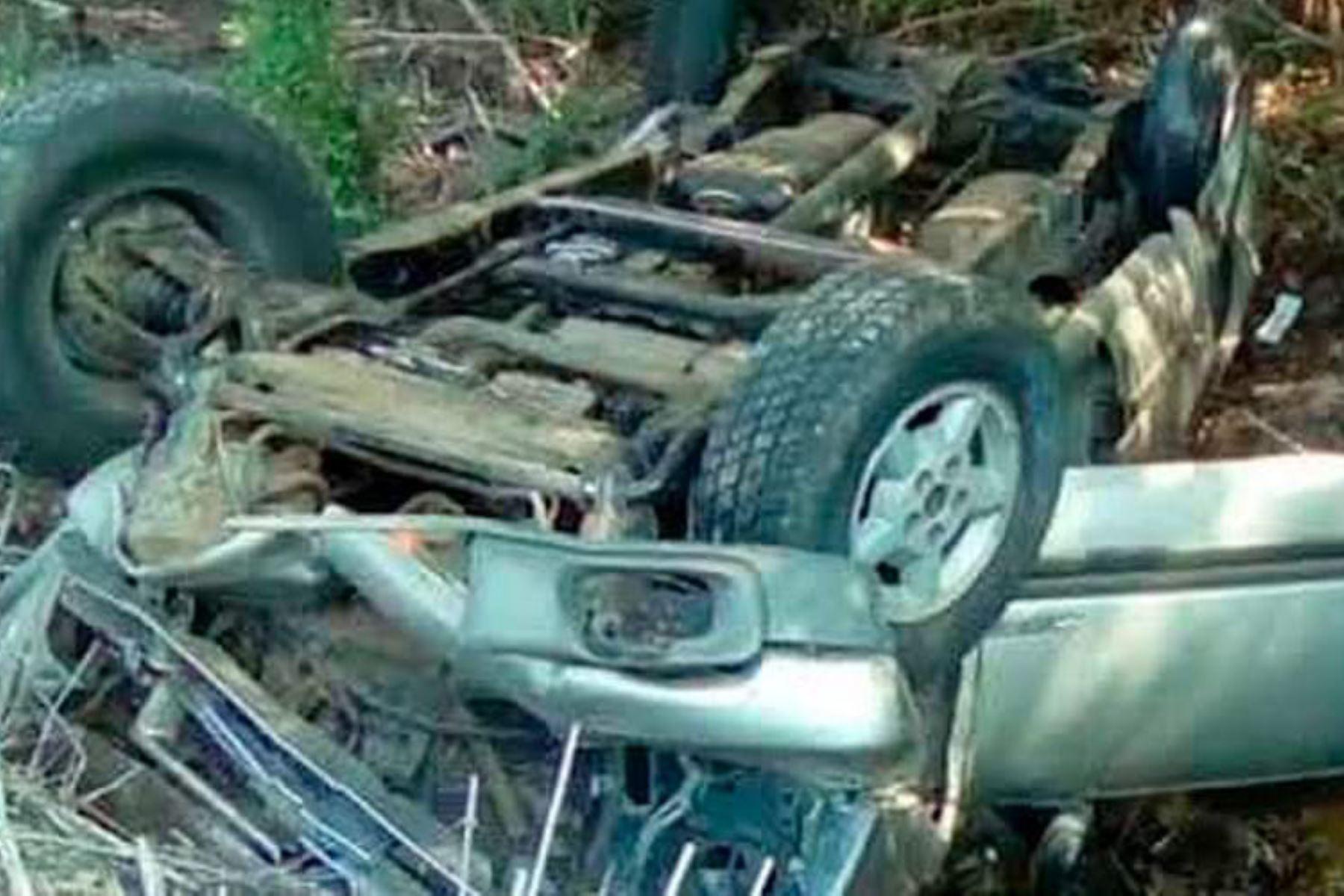 Tres fallecidos y un herido dejó un accidente de tránsito registrado en la provincia de Sánchez Carrión, región La Libertad.