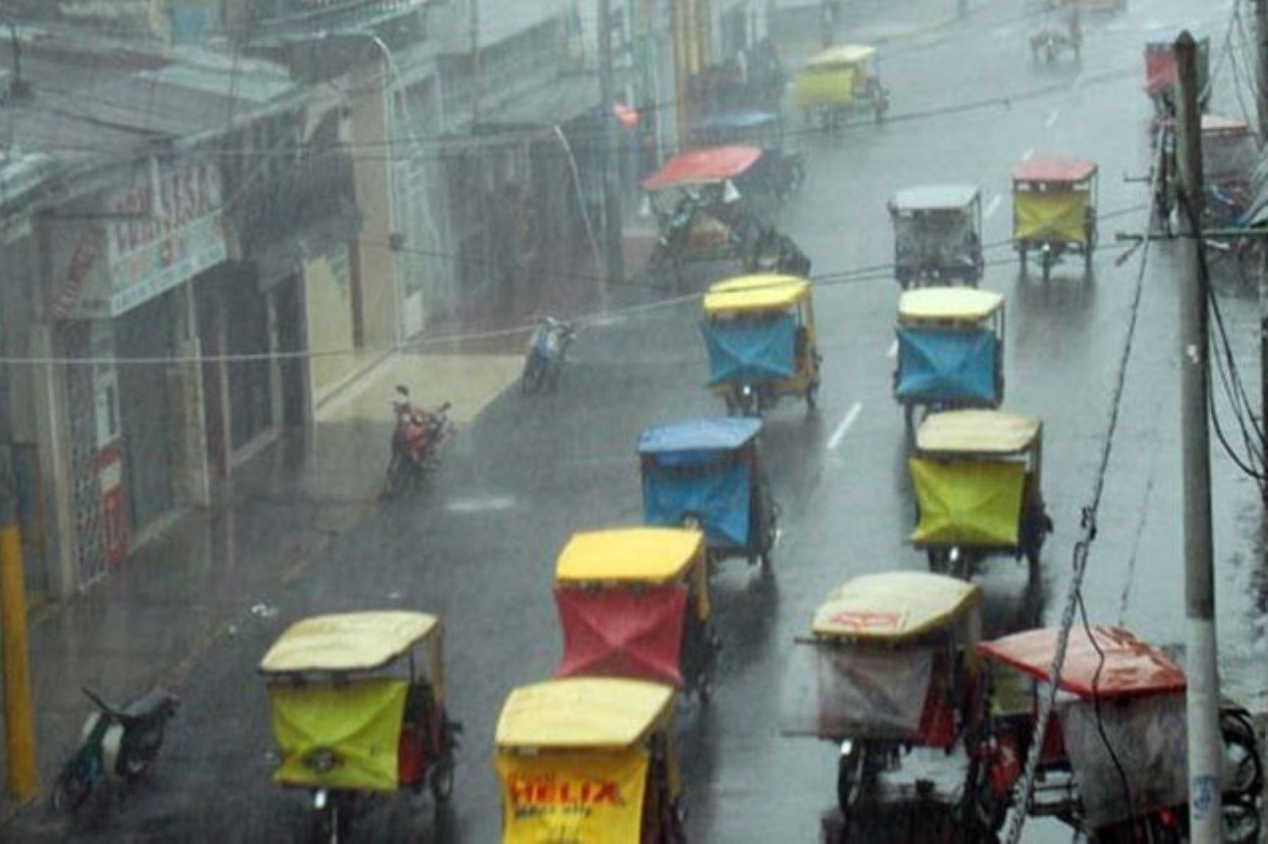 El Senamhi pronosticó lluvias de moderada a fuerte intensidad en la Selva desde hoy hasta el jueves 21 de noviembre. Foto: ANDINA/Difusión