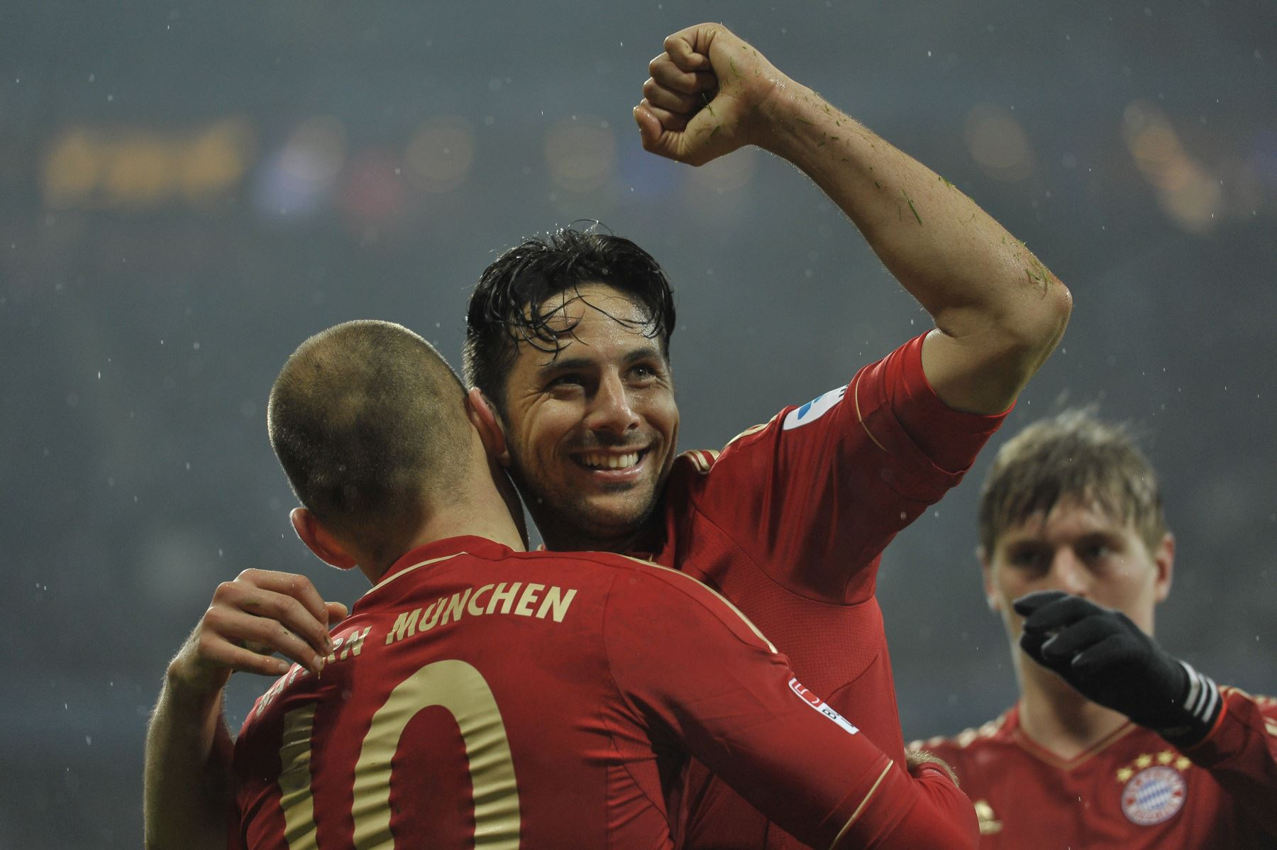 Claudio Pizarro. Photo: AFP