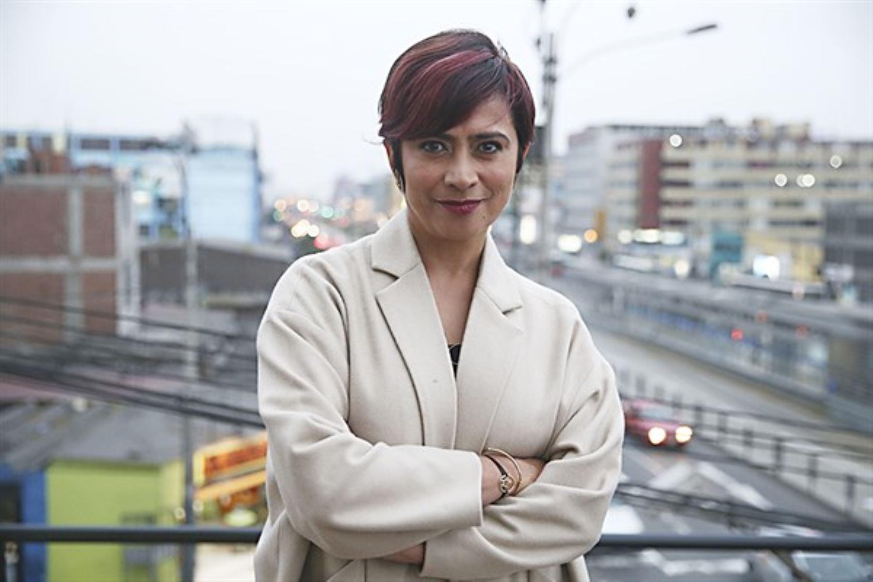 Ángela Delgado, directora del Hay Festival Arequipa.