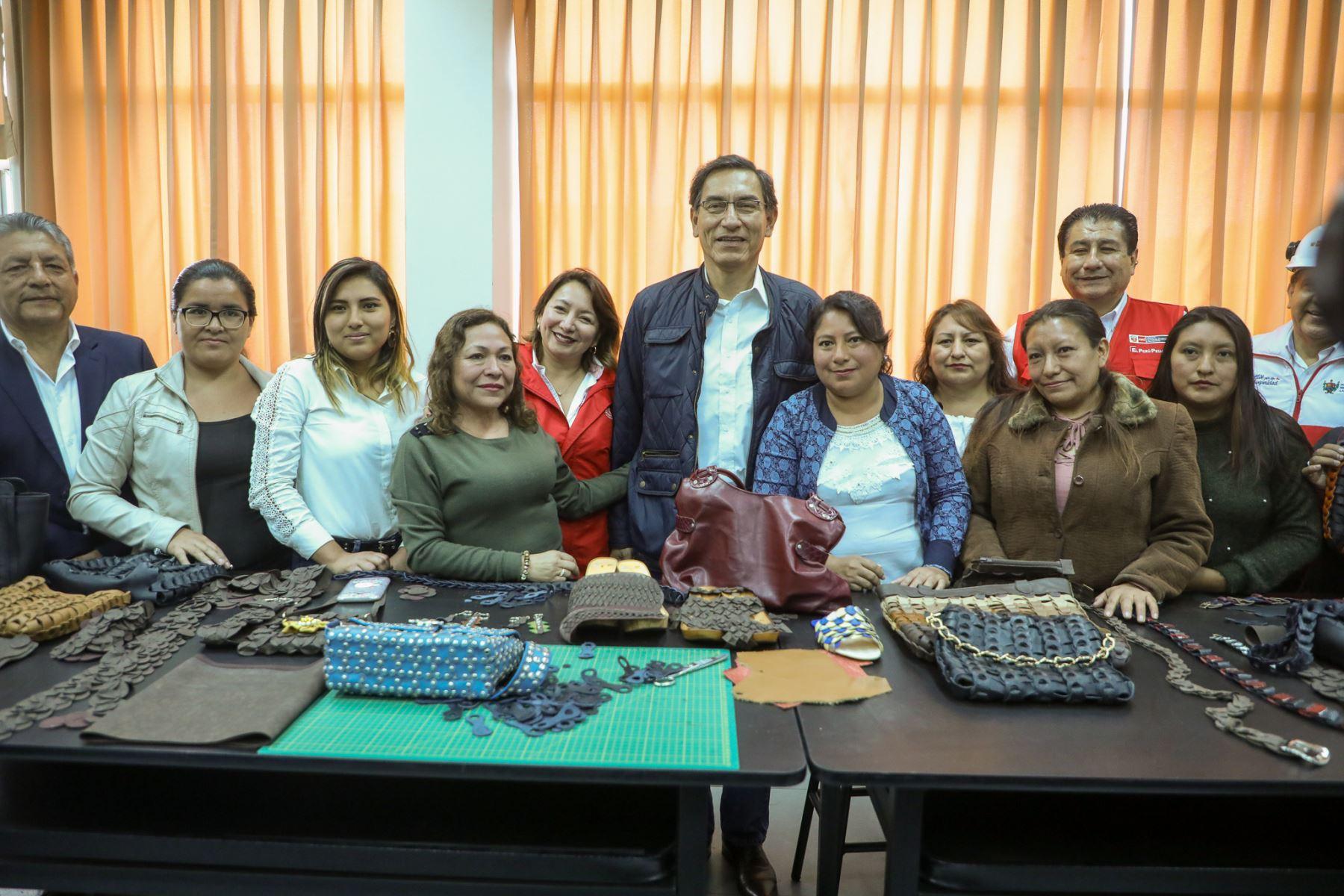 El CITEcuero y Calzado Trujillo, como parte de la red CITE, tiene como objetivo aumentar la competitividad de los empresarios de La Libertad.