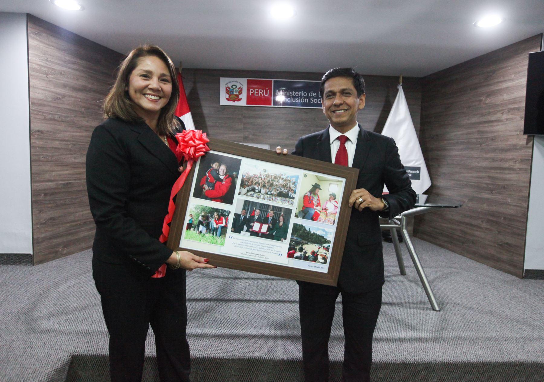 Ing. Jorge Melendez asumió funciones como Titular del Ministerio de Desarrollo Inclusión Social.Foto: ANDINA/Midis