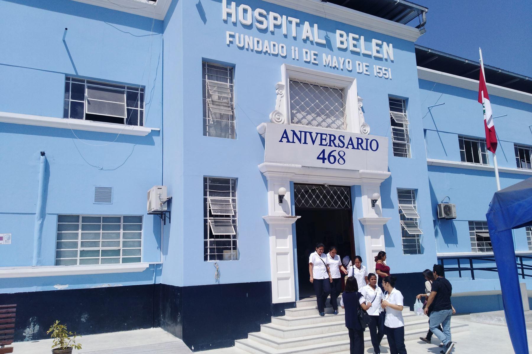 Aseguradoras deben más de S/ 300,000 a hospital Belén de Trujillo, afirma la Defensoría del Pueblo. ANDINA/Difusión