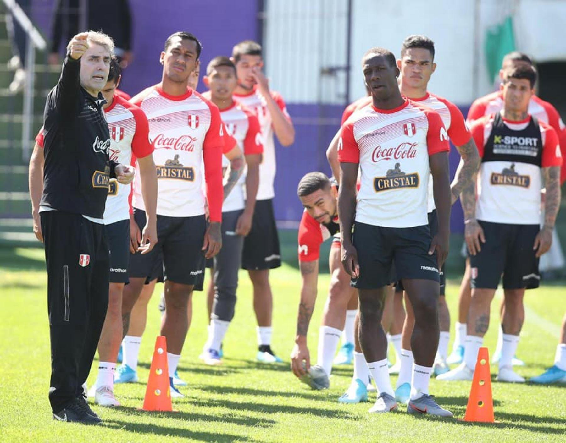 Selección peruana. Foto: FPF