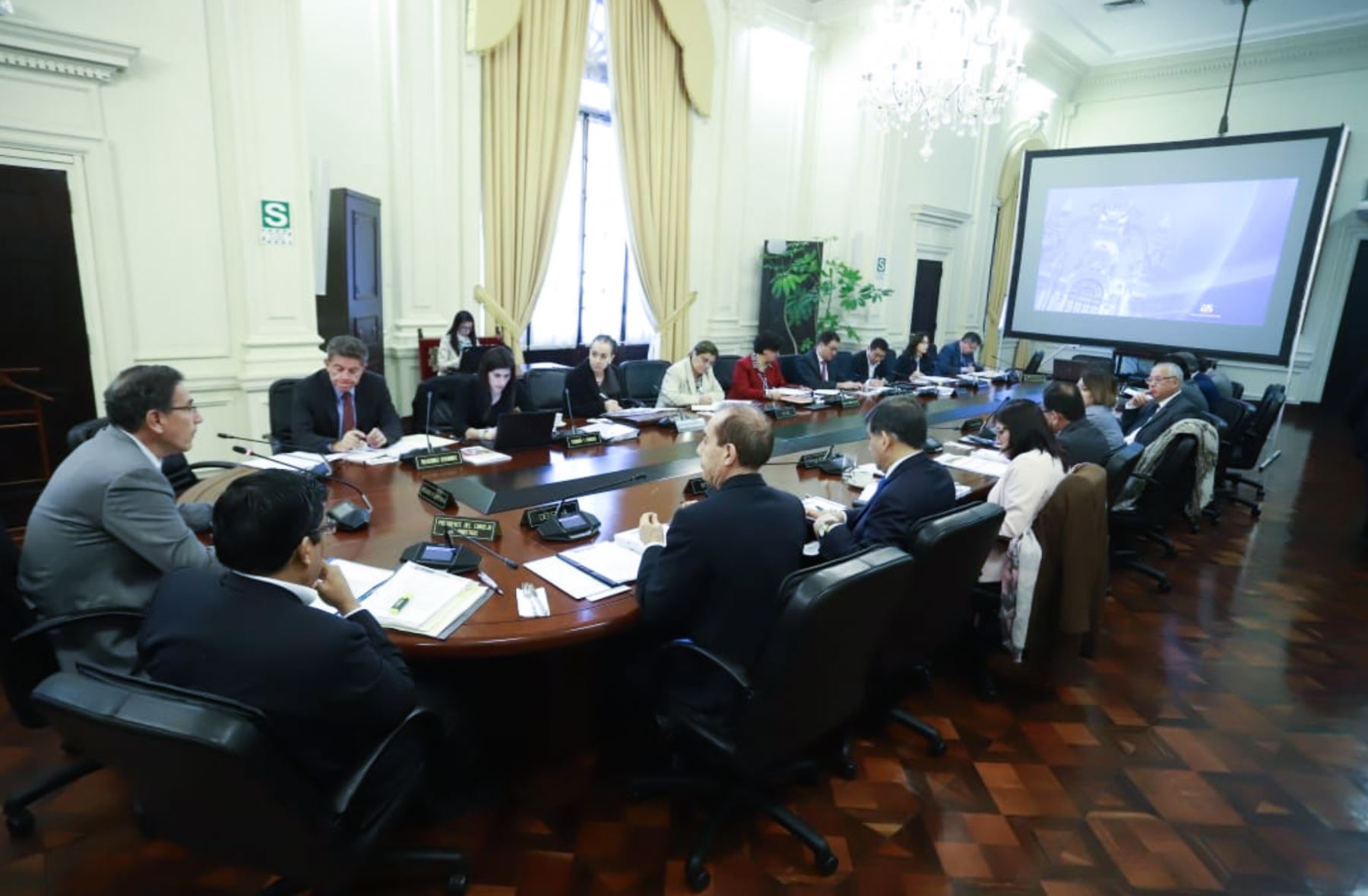 Consejo de Ministros aprobó el Decreto de Urgencia que establece medidas para las elecciones parlamentarias del 2020