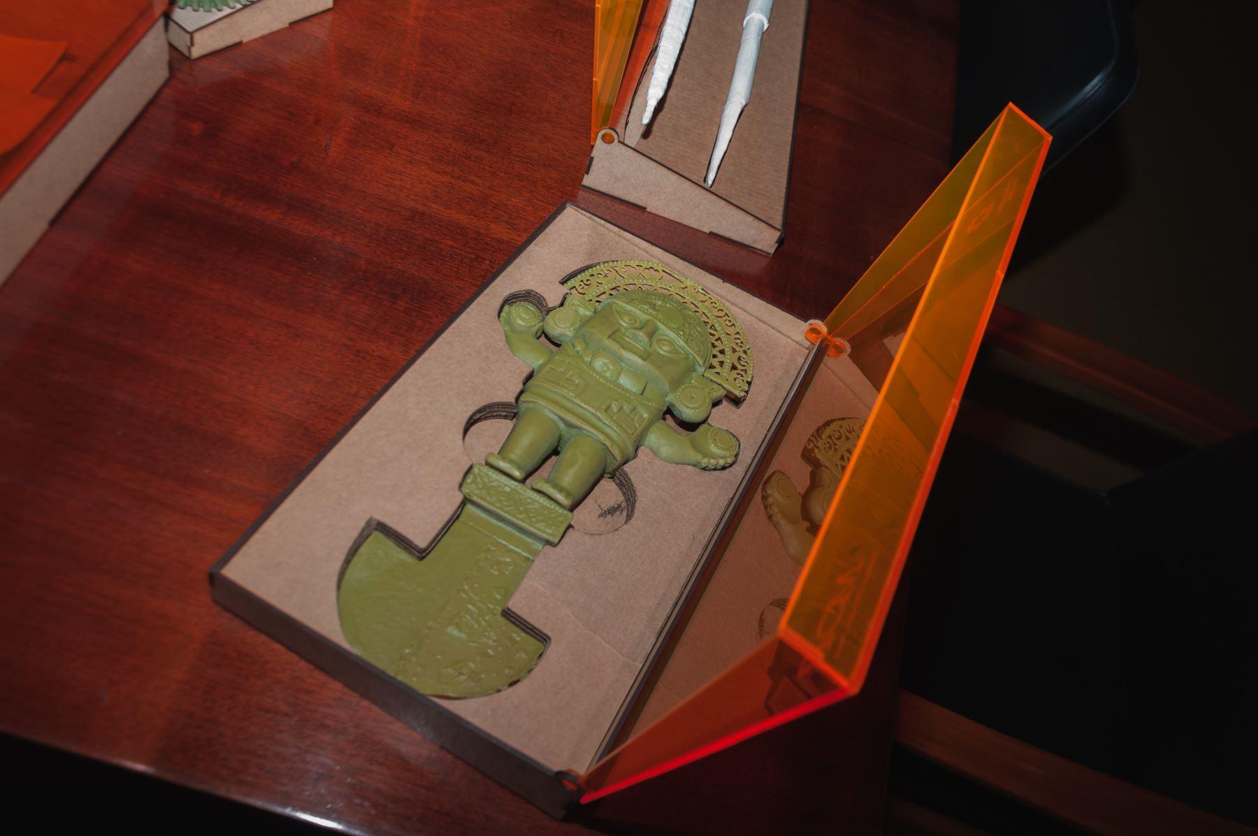 El Museo de Oro exhibirá piezas arqueológicas en 3D para que personas con discapacidad visual puedan conocerlas