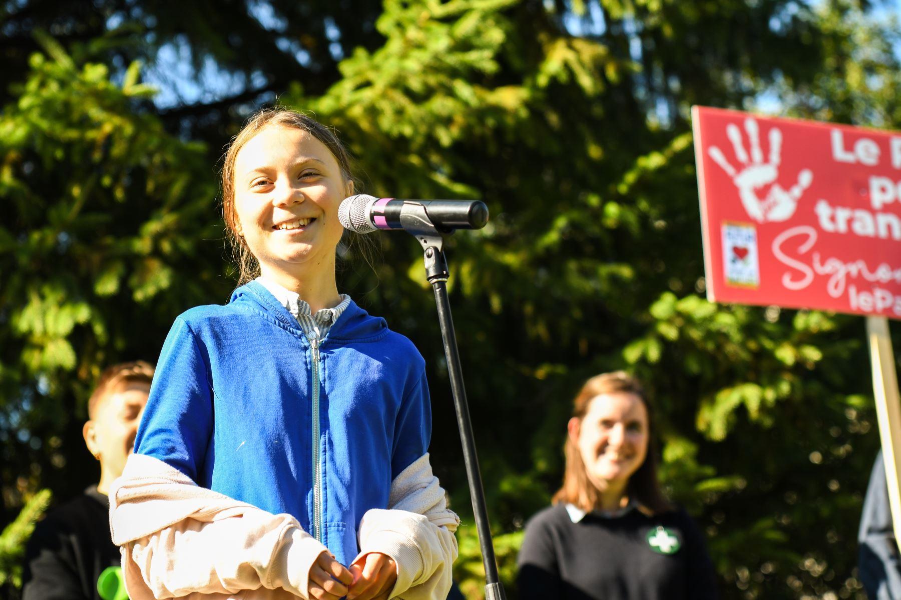 Greta Thunberg. Foto: AFP