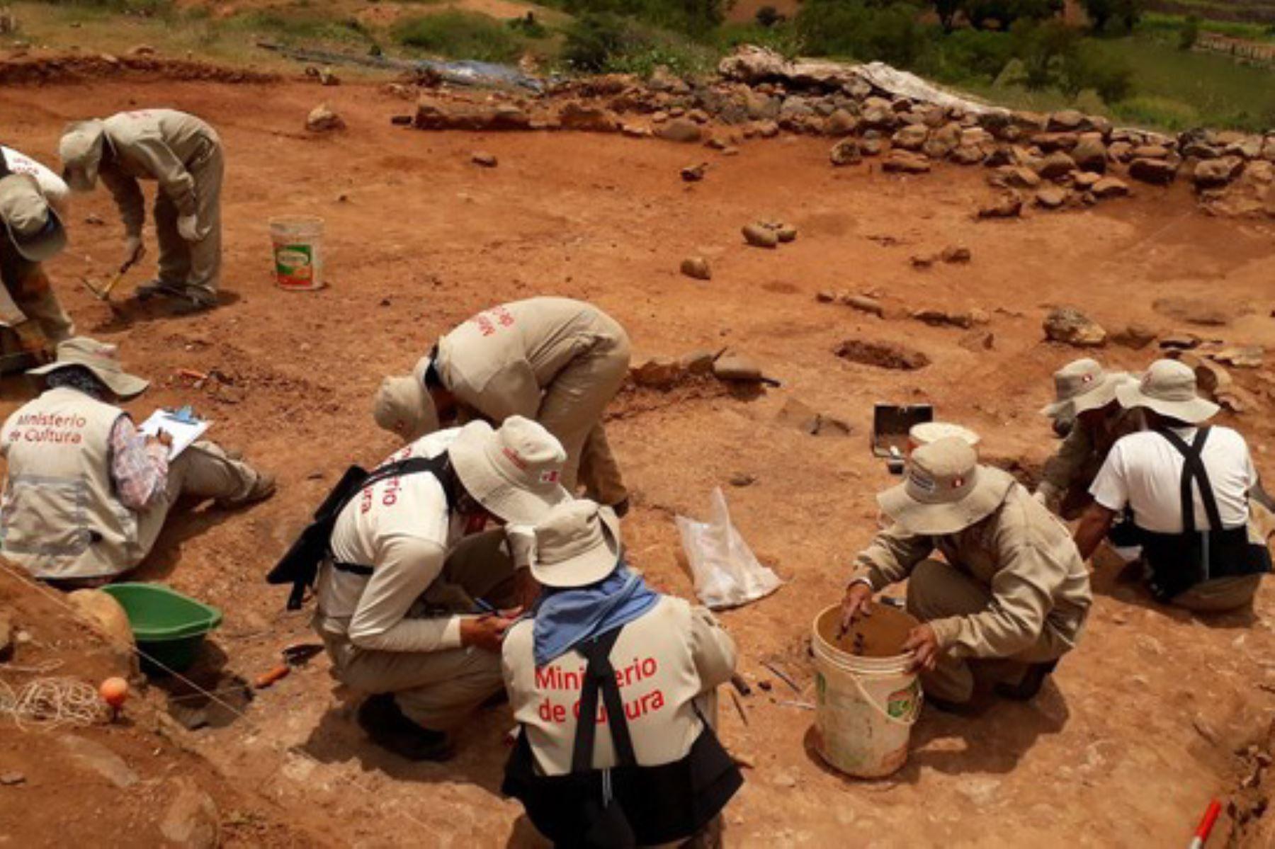 Reanudan los trabajos de excavación en el Sector VI de la Zona Arqueológica Monumental Kotosh, en la región Huánuco.