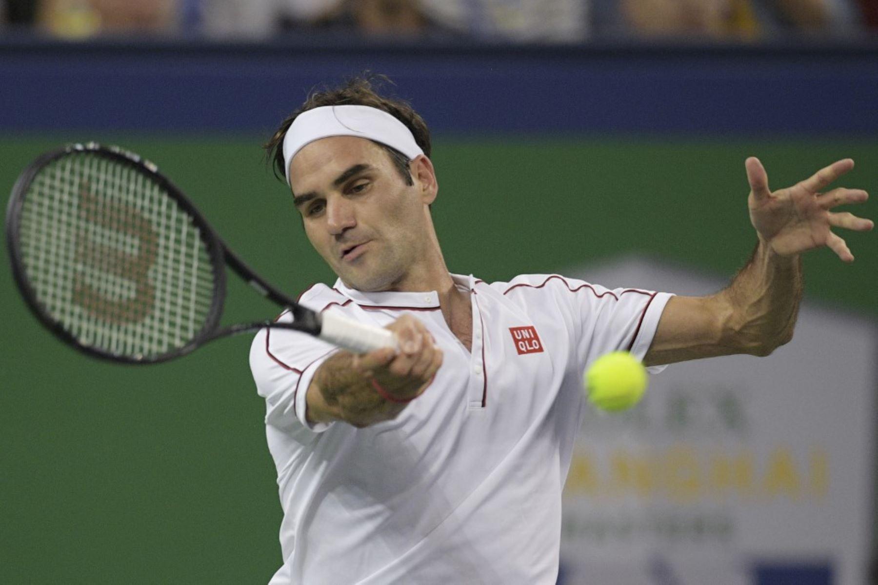 Federer va rumbo al título del Masters 1000 de Shanghai