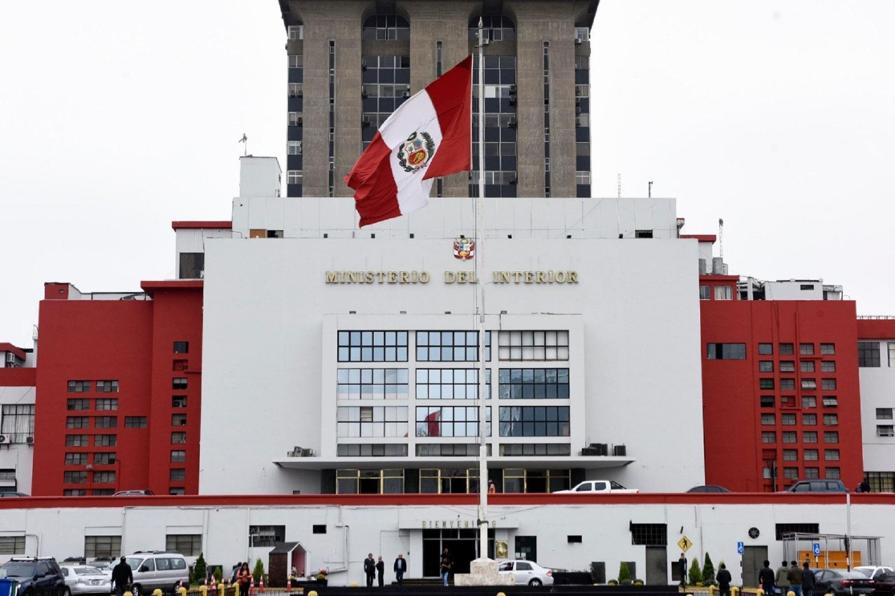 Sector Interior ejecutará más del 90% de su presupuesto este año  Foto: Mininter