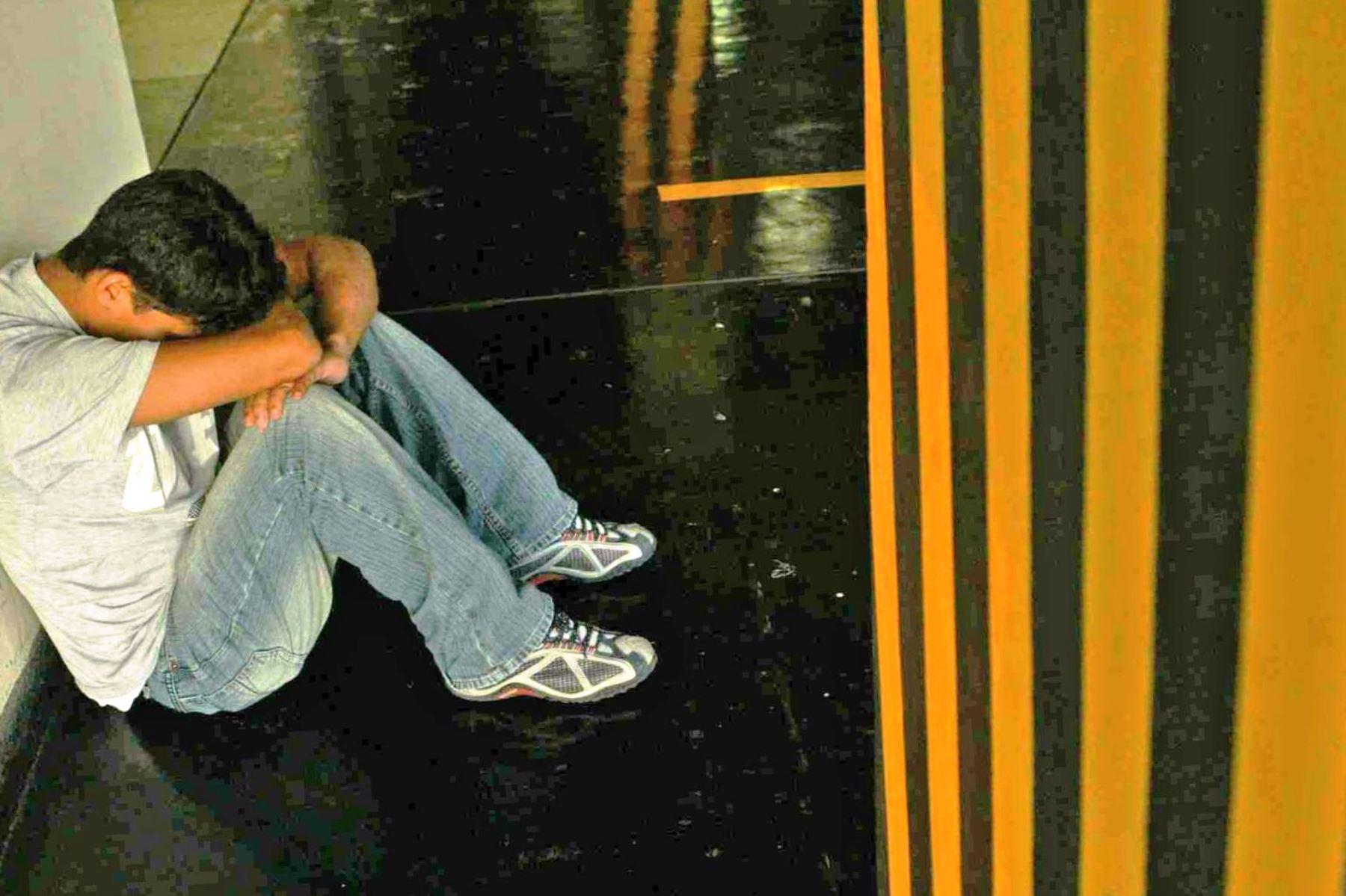 Salud mental: jóvenes son la población con más riesgo de suicidio. Foto: ANDINA/archivo.