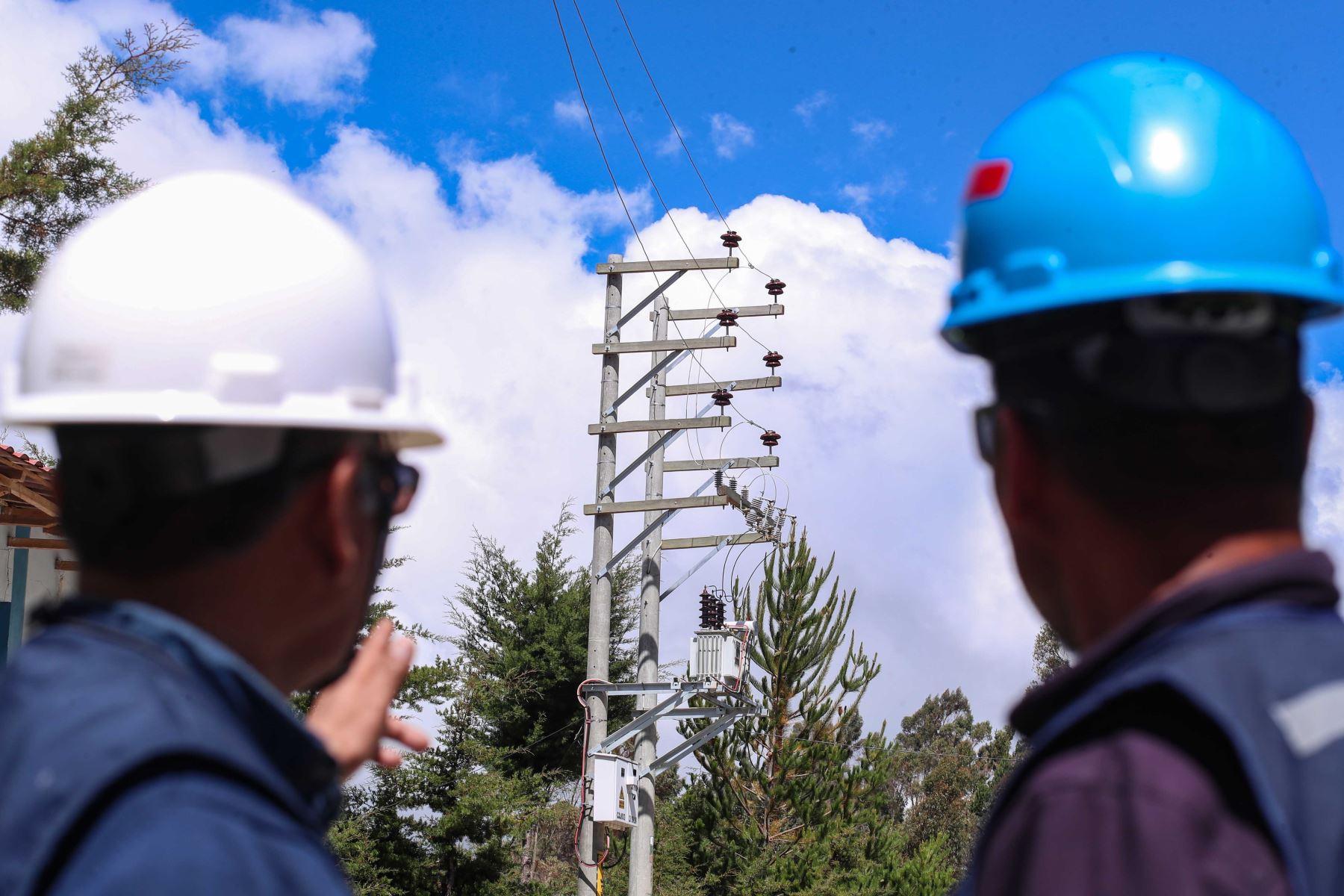 Electrificación rural.