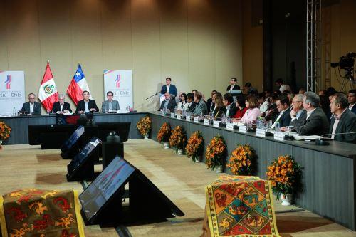 Encuentro Presidencial y III Gabinete Binacional Perú-Chile