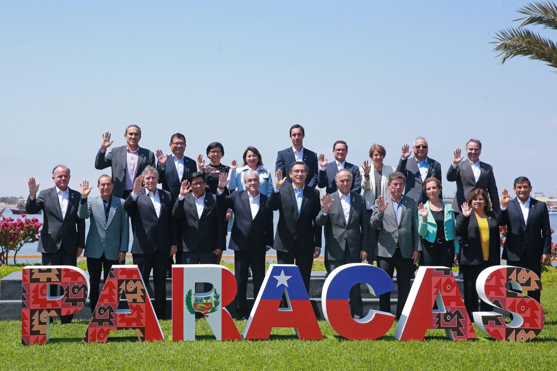 Perú y Chile firman acuerdos de cooperación entre sus naciones